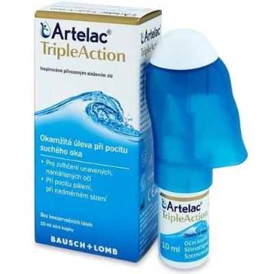 Artelac TripleAction oční kapky 10ml