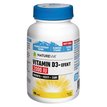 VITAMIN D3-EFEKT 2000I.U. 90 tablet
