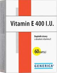 Generica Vitamin E 400 IU 60cps