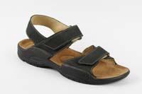 Karel sandál černý