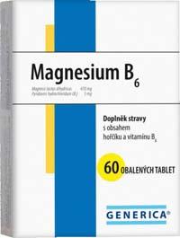 Generica Magnesium B6 60tbl