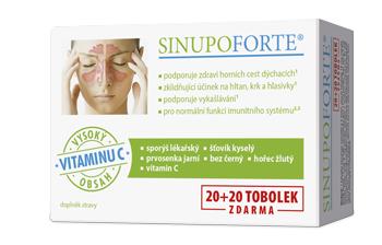 SINUPO Forte® 20+20 tobolek