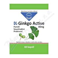 DL Ginkgo Active kapsle 60x40mg