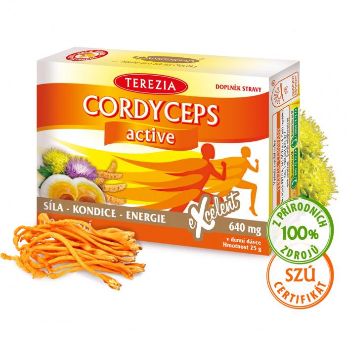 Cordyceps active 60 kapslí