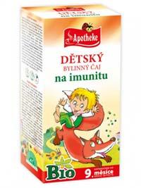 Apotheke Dětský BIO Na imunitu porcovaný čaj