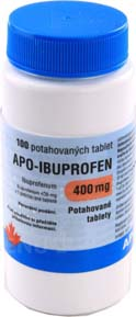 Apo-Ibuprofen tbl 100x400mg