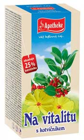 Apotheke Vitalita porcovaný čaj