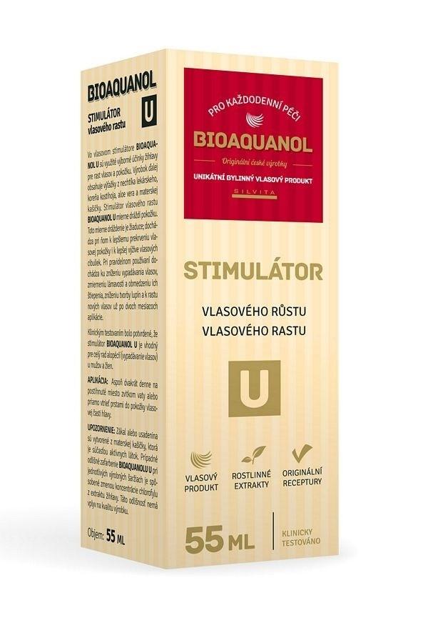 Bioaquanol U stimulátor vlasového růstu 55 ml