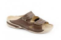 Lucy halux pantofel hnědý