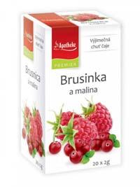 Apotheke Brusinka a malina porcovaný čaj