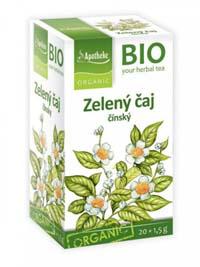 Apotheke BIO Zelený čaj porcovaný čaj