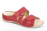 Elen pantofel červený
