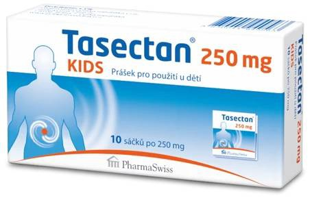 Tasectan Kids 250 mg 10 sáčků