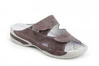 Lucy pantofel šedofialový