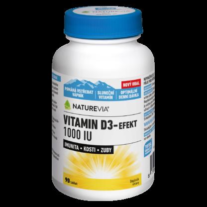 VITAMIN D3-EFEKT 1000I.U. 90 kapslí