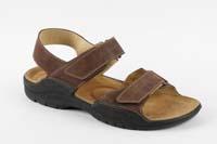Karel sandál hnědý