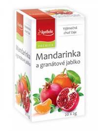 Apotheke Mandarinka a granátové jablko porcovaný čaj