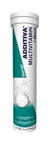 ADDITIVA Multivitamin+minerály Mango 20 šumivých tablet
