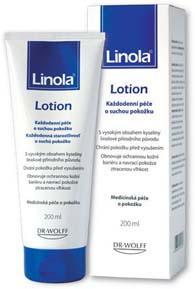 Linola Lotion tělové mléko 200ml