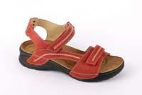 Saša sandál červený