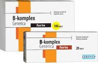 Generica B-komplex forte 100 tbl