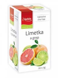 Apotheke Limetka a grep porcovaný čaj