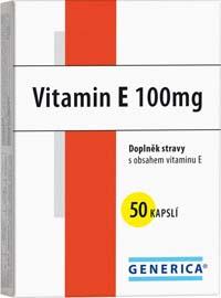 Generica Vitamin E 100IU 50cps