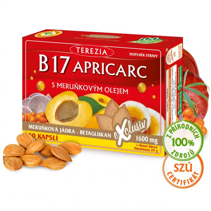 B17 APRICARC s meruňkovým olejem 60 kapslí