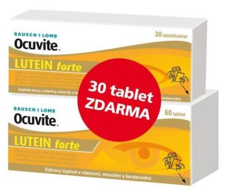 Ocuvite Lutein forte 60+30 tablet