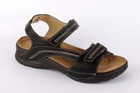 Saša sandál černý