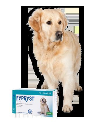 FYPRYST DOGS SPOT-ON pro psy 1x2,68ml 20-40kg