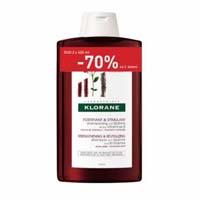 Klorane Chinin šampon 2x400ml SLEVA