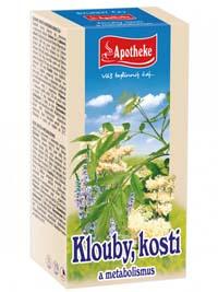 Apotheke Klouby, kosti a metabolismus porcovaný čaj