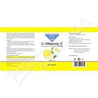 DL Vitamin C s postupným uvolňováním kapsle 90x500mg