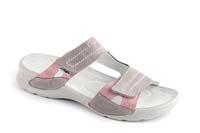 Nina pantofel šedorůžový