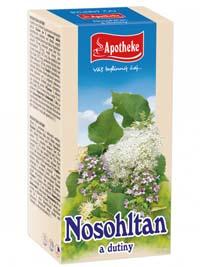 Apotheke Nosohltan a dutiny porcovaný čaj