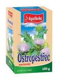 Apotheke Ostropestřec plod 150g