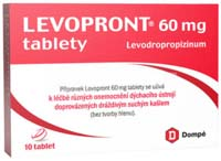 Levopront tablety 10x60mg