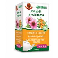 Herbex Rakytník a echinacea porcovaný čaj