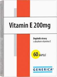 Generica Vitamin E 200 IU 60cps
