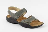 Karel sandál šedý