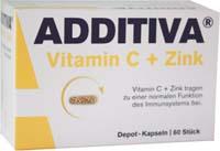 ADDITIVA Vitamin C a Zinek s postupný uvolňováním 80 kapslí