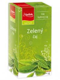 Apotheke Zelený čaj porcovaný čaj